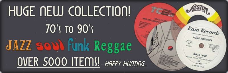 New Jazz Soul Funk Reggae Collection In!