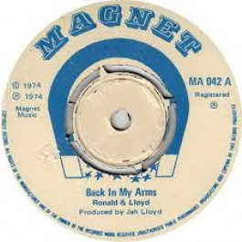 RONALD & LLOYD / HEPTONES - Back in My Arms / Drifting Away - 45T (SP 2 titres)