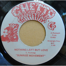 Nothing Left But Love / Clock Wise Revolution - Great Soulful A Side , With A Wicked Funky Flip