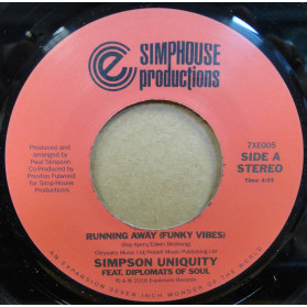 Running Away (Funky Vibes) / Diplomats of Soul Dub