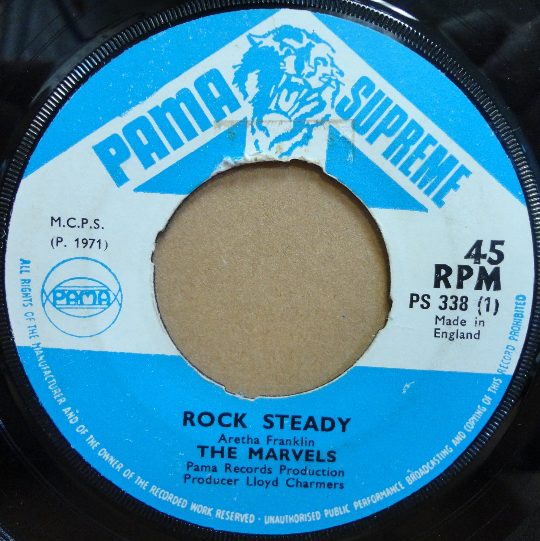 Marvels Rock Steady Be My Baby