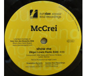 Show Me (Nigel Lowis Radio Edit) / (Alan Glass Radio Org Mix) - The Sundae Soul Boys do It Again, What a fantastic tune.