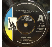 60 Minutes Of Your Love / I Know You Know - Nice UK Demo of this all time classic Northern Soul Tune