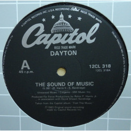 DAYTON - The Sound Of Music / Promise Me  / Love You Anyway - Maxi 45T