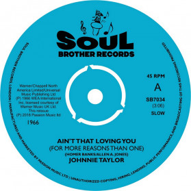 Ain't That Loving You / Blues In The Night