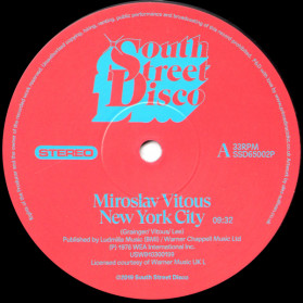 New York City / Whistle Bump - Two great sought-after Loft classics!