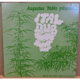 Ital dub - Green coloured sleeve with weed plants -  Inc The Big Rip-Off - Barbwire Disaster & House Raid