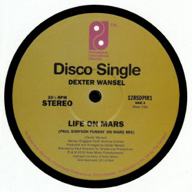 Life on Mars / Theme From Planets - Record Store Day 2019