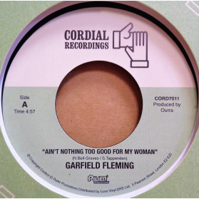 Ain't Nothing Too Good For My Woman / Hustlin' - brand new material from the great voice of GF!
