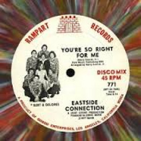 Your So Right For Me - 1st press USA - Multi Coloured Vinyl
