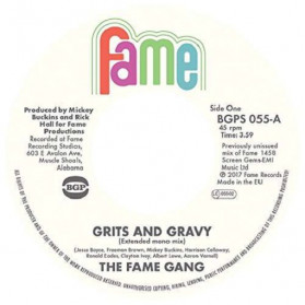 Grits And Gravy / Crime Don't Pay - Two great funkers!