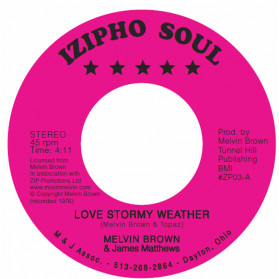 Love Stormy Weather / Crying For Your Love
