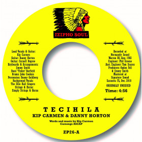 Tecihila / Thoughts Of Loving You - Nice unreleased double-sider!