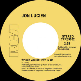Would You Believe In Me / Kuenda