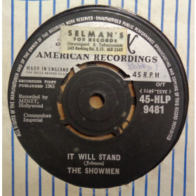 It will Stand / Country Fool - A very young General Johnson